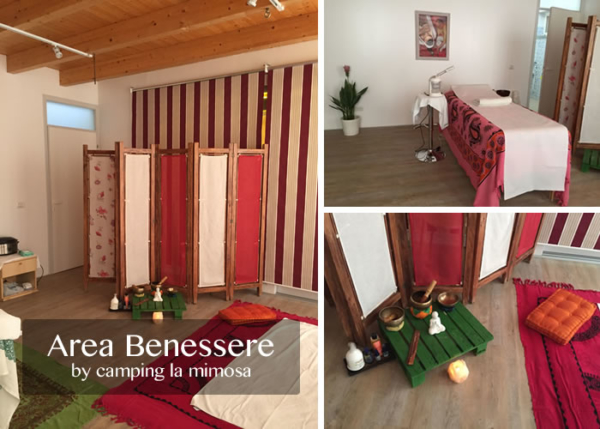 area benessere camping mimosa